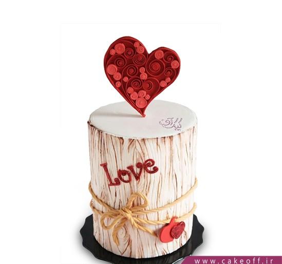 کیک تولد عاشقانه مرسالا