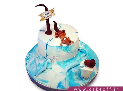 جدیدترین کیک تولد - کیک عصر یخبندان 3 | کیک آف
