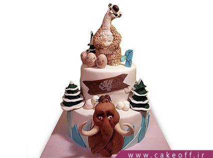 بهترین کیک تولد - کیک کارتون عصر یخبندان 8 | کیک آف