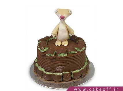بهترین کیک تولد - کیک کارتون عصر یخبندان 6 | کیک آف