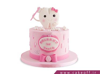 کیک جشن اولین دندان - کیک دندون خانوم | کیک آف