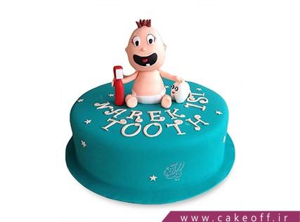 کیک جشن دندونی - کیک با دندون شدم | کیک آف