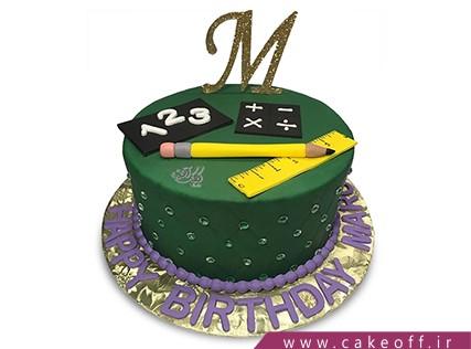 کیک اولین روز مدرسه - کیک روز معلم - کیک کلاس ریاضی من | کیک آف