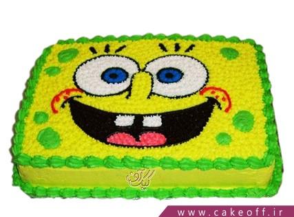 کیک باب اسفنجی می خندد | کیک آف