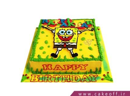 عکس های کیک تولد باب اسفنجی