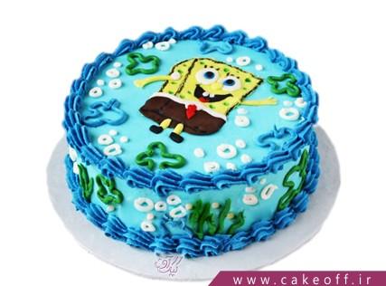 کیک باب اسفنجی شنا می کند | کیک آف