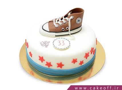 سفارش کیک خاص - کیک کفش آل استار 2 | کیک آف