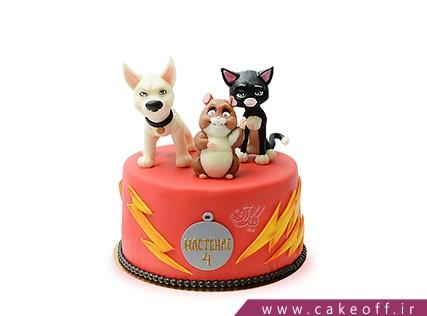 کیک کارتونی سگ تیز پا | کیک آف