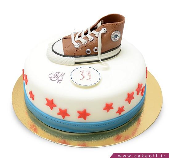 کیک کفش آل استار 2