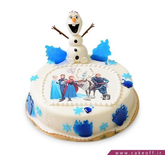 کیک السا و اولاف 2