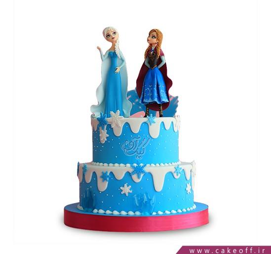 کیک دخترانه السا و آنا 5