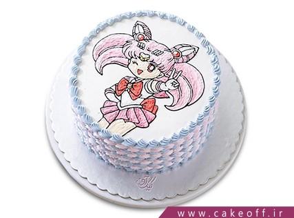 انواع کیک تولد دخترانه - کیک مانستر های با انرژی | کیک آف