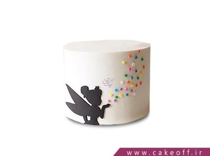 کیک تولد دخترانه جدید - کیک تو از ستاره ها اومدی | کیک آف