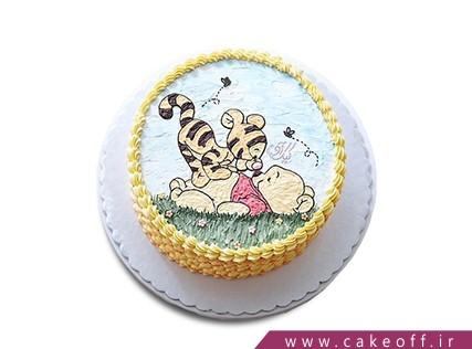 کیک تولد کودک - کیک تولد بچه - کیک هم بازی خرسی  | کیک آف