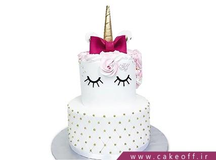 کیک فوندانتی - کیک تولد بچه - کیک آنیتا | کیک آف