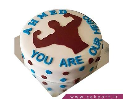 کیک تولد ورزشی