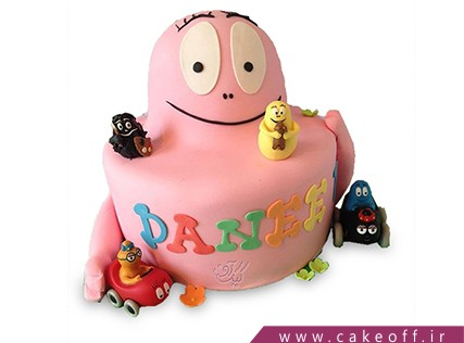 کیک تولد کودک - کیک بارباپاپا 5 | کیک آف