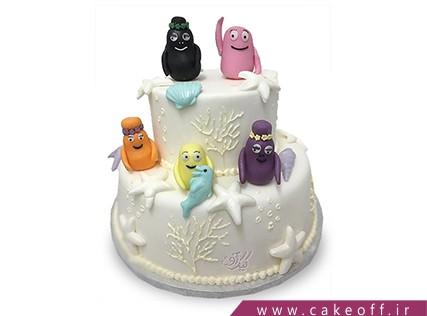 کیک تولد کودک - کیک بارباپاپا 4 | کیک آف
