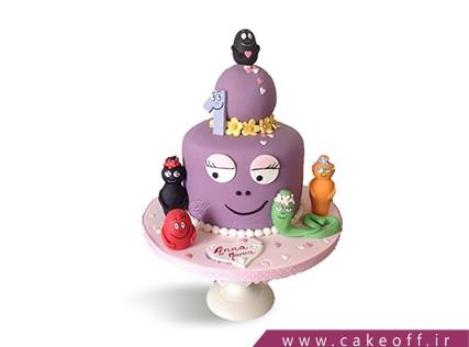 کیک تولد کودک - کیک بارباپاپا 3 | کیک آف