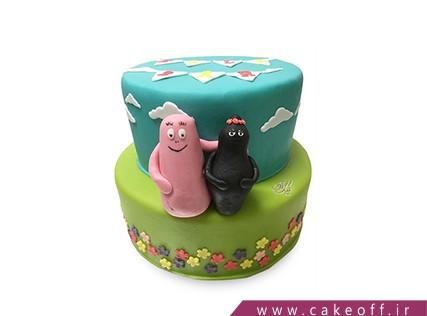 کیک تولد کودک - کیک بارباپاپا 1 | کیک آف