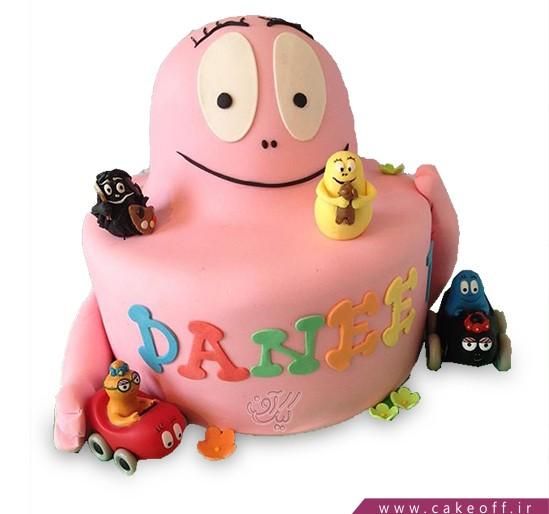 کیک تولد کودک - کیک بارباپاپا ۵ | کیک آف