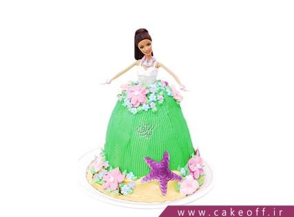 کیک تولد دخترانه باربی