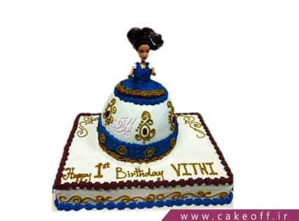 کیک تولد باربی - کیک باربی موفرفری | کیک آف