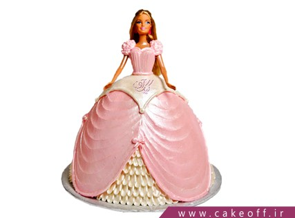 کیک تولد باربی مغرور | کیک آف