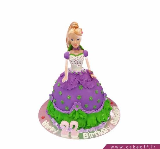 کیک باربی زیبا می شود