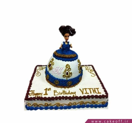 کیک باربی موفرفری