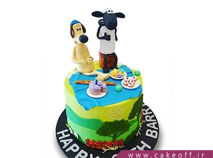 کیک تولد حیوانات - کیک بره ناقلا 6 | کیک آف