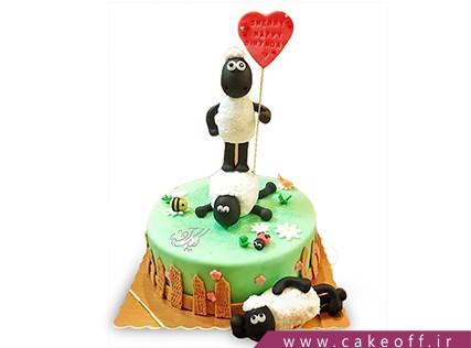 کیک تولد حیوانات - کیک بره ناقلا 7 | کیک آف