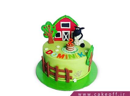 سفارش کیک آنلاین - کیک حیوانات - کیک بره ناقلا 11 | کیک آف