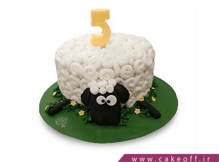 سفارش آنلاین کیک - کیک حیوانات - کیک بره ناقلا 10 | کیک آف