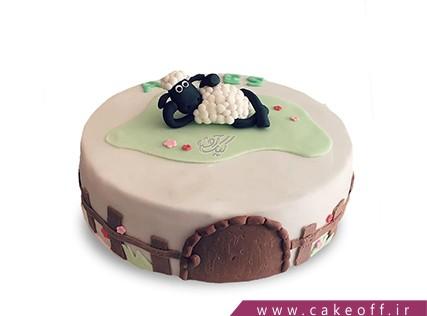 سفارش کیک آنلاین - کیک حیوانات - کیک بره ناقلا 12 | کیک آف