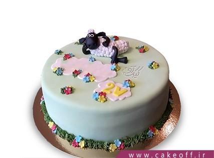 سفارش کیک انلاین - کیک حیوانات - کیک بره ناقلا 13 | کیک آف