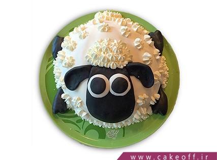 سفارش کیک انلاین - کیک حیوانات - کیک بره ناقلا 14 | کیک آف