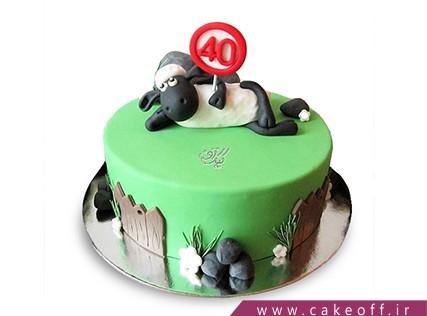 سفارش اینترنتی کیک - کیک حیوانات - کیک بره ناقلا 15 | کیک آف