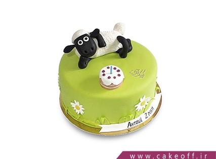 سفارش اینترنتی کیک - کیک حیوانات - کیک بره ناقلا 16 | کیک آف
