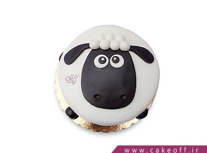 کیک های بچه گانه - کیک حیوانات - کیک بره ناقلا 17 | کیک آف