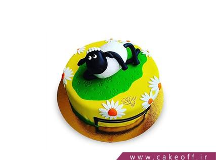 کیک های بچه گانه - کیک حیوانات - کیک بره ناقلا 18 | کیک آف