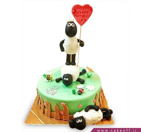 کیک بره ناقلا 7