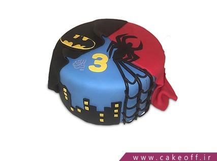 کیک مرد عنکبوتی و بتمن در شهر | کیک آف