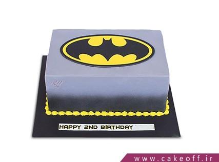 کیک تولد پسرانه بتمن 3 - خرید کیک تولد در اصفهان | کیک آف