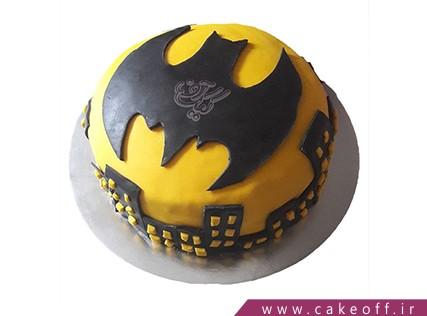 کیک تولد پسرانه بتمن 4 - خرید کیک تولد در اصفهان | کیک آف