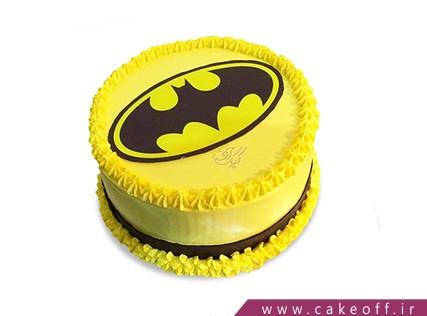 کیک تولد پسرانه - کیک بتمن 5 | کیک آف