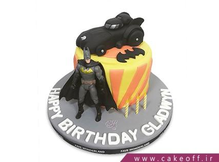 کیک تولد پسرانه - کیک بتمن 7 | کیک آف
