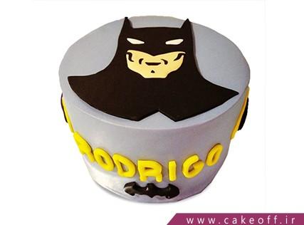 کیک تولد پسرانه - کیک بتمن 10 | کیک آف