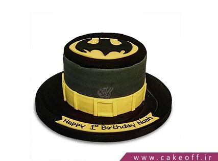 کیک تولد پسرانه - کیک بتمن 11 | کیک آف