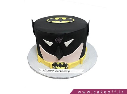 کیک تولد پسرانه - کیک بتمن 13 | کیک آف